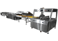 Chocolate Enrober Machinery